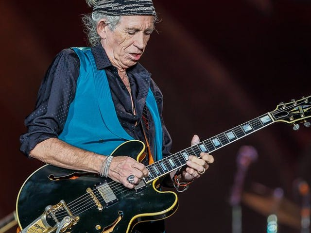Keith Richards to release his first solo album in more than 20 years