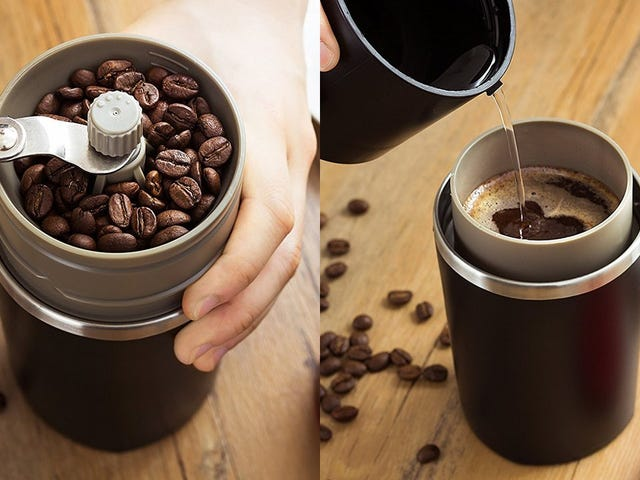 Grind and Brew Anywhere With Infinite Coffee, Now Just $16