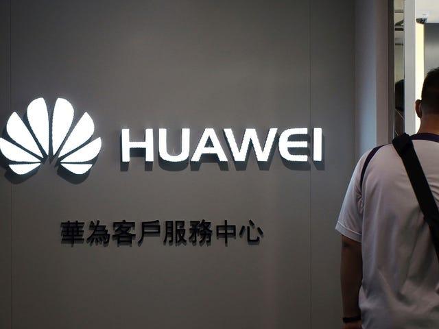 Rapport: Les quatre principaux réseaux mobiles du Royaume-Uni utilisent le matériel Huawei 5G
