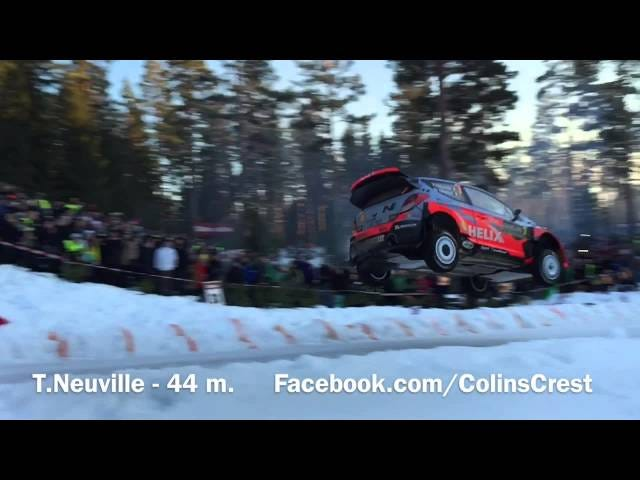 Thierry Neuville's Rally Car Flies Better Than Most Planes