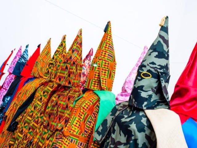 Kente Cloth Klansmen ja Paul Rucker's Art, joka provosoi