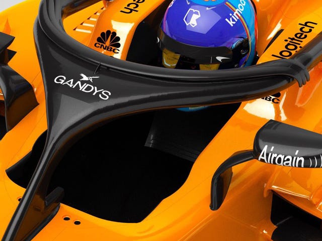 McLaren Embraces Ugly F1 Halo And Gets Flip Flops Sponsorship