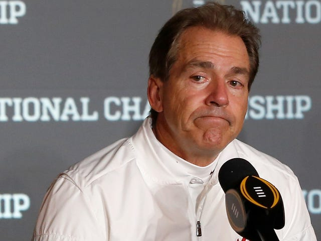 Nick Saban Doesn't Want You To Blame Him For Restricting His Players' Transfers