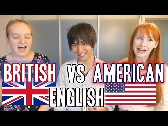 Británico vs Americano vs _____ Inglés