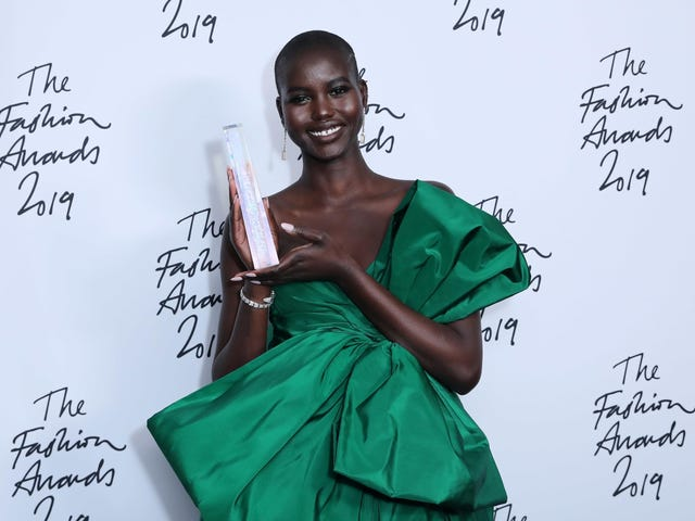 Black Beauty Won the Night at the 2019 British Fashion Awards