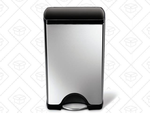 Save $20 On One of Simplehuman's Most Popular Kitchen Trash Cans