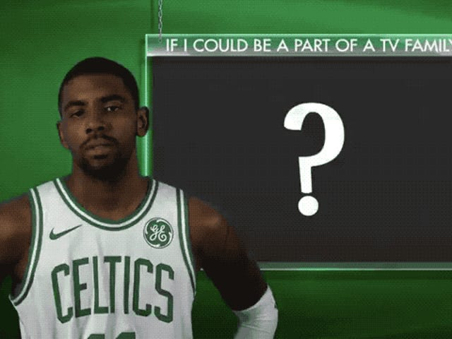 Kyrie Irving Has No Concern For Earthly Matters Like TV Families