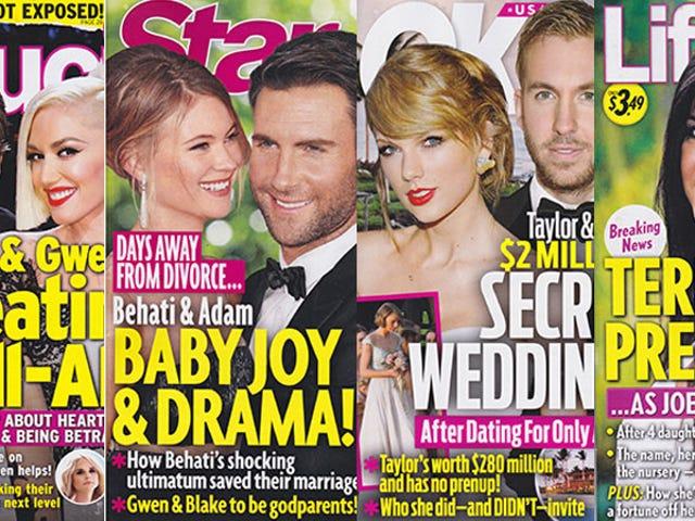 Deze week in tabloids: Taylor Swift en Calvin Harris zullen binnenkort trouwen, of we het nu leuk vinden of niet