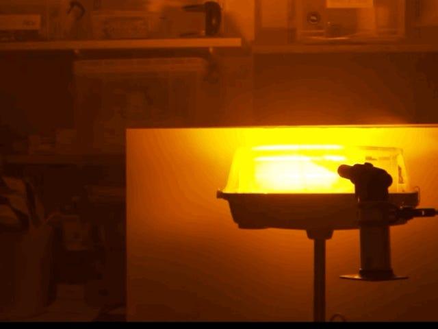 Qué es y cómo se genera el fuego negro, la espectacular llama química que arde con luz oscura a simple vista