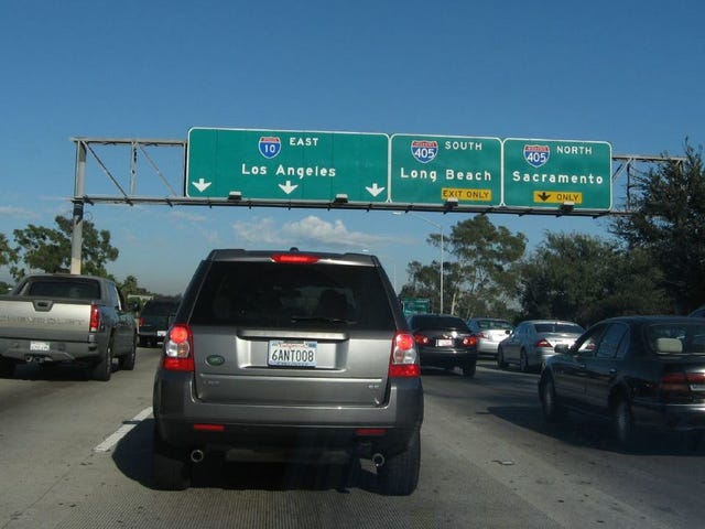This Is Why People In Southern California Say 'The' In Front Of Freeway Names