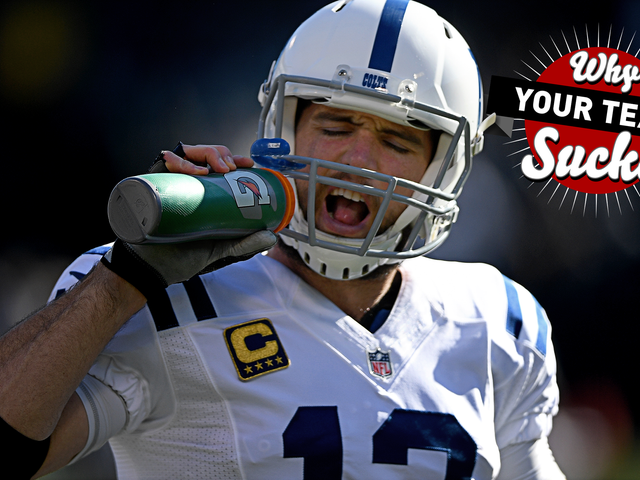 Porqué su equipo chupa 2017: Colts de Indianapolis <em></em>