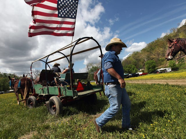Trump's New 'Work-for-Welfare' Requirements Miraculously Exempt Rural Whites