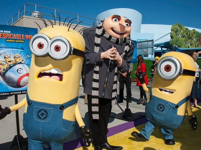 Esto es 2019: Universal Orlando despide a la mascota de Gru por una señal de poder blanca intermitente