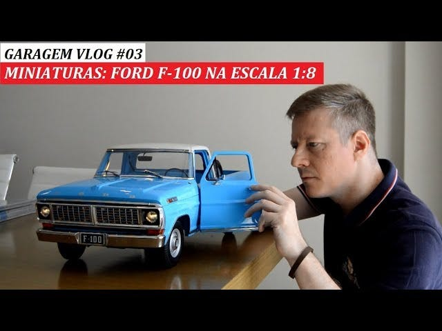 Inter///Mission - Close look at the 1:8 Ford F-100 by Salvat