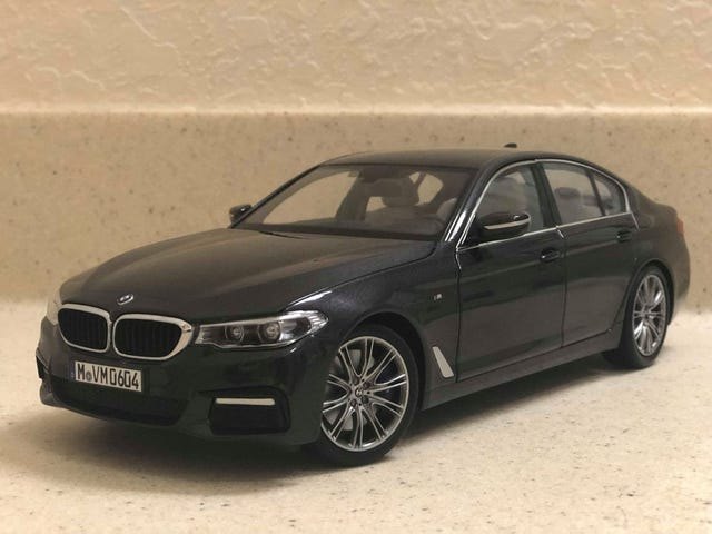 Kyosho 1/18 2017 BMW 540i M-Sport (G30): ang LaLD review