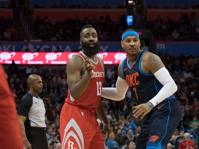 Rockets Add Carmelo Anthony, But Why?