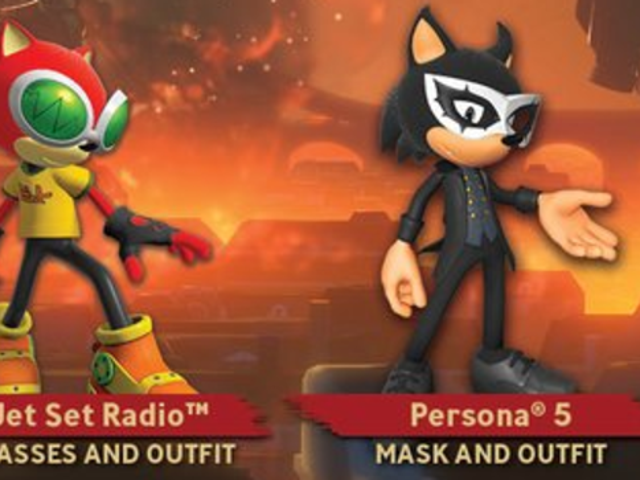 The Internet Reacts To Sonic Forces' Persona 5 Costume
