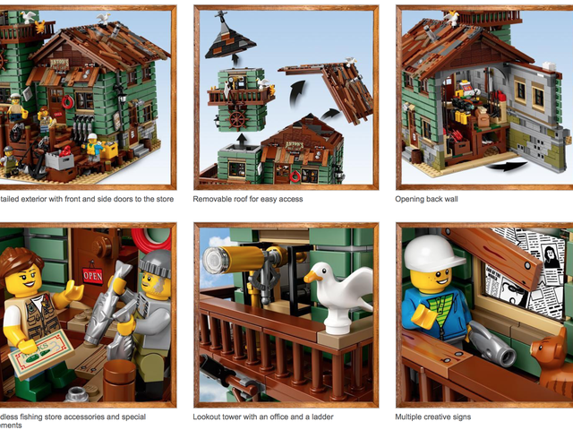 The Size of This Discounted LEGO Set Is No Fish Tale