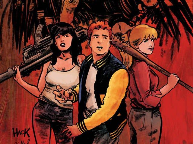 Comics' craziest crossover returns in this Archie Vs. Predator II exclusive
