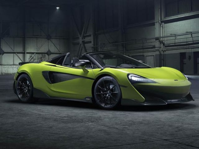 I don't normally like Mclarens...