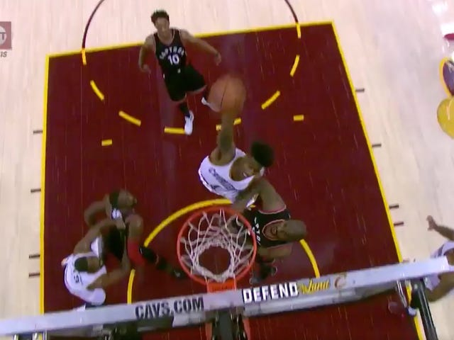 The Cavs Are Dunking All Over The Raps