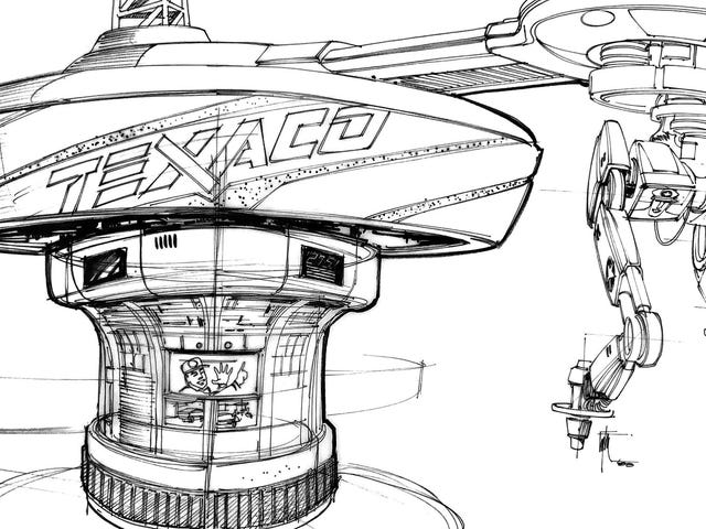 These Concept Designs for Back to the Future Part II's Future Tech Are Incredible