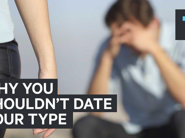 """Arrêtez d'essayer de dater exclusivement votre """"type"""""""