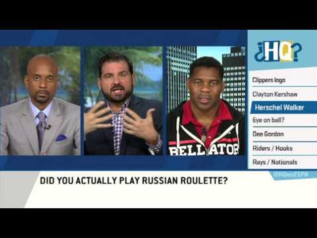 "Herschel Walker Says He Played Russian Roulette ""More Than Once"""