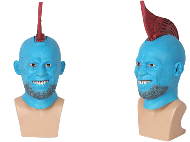 This Guardians of the Galaxy Costume Mask Is the Stuff Halloween Nightmares Are Made Of