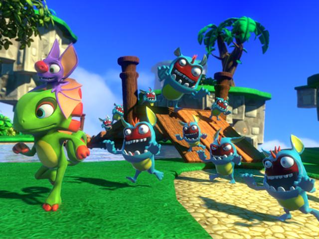 """En su primera actualización de la comunidad después de los juegos, Playtonic Games ha anunciado que algunos """"spit 'n polish"""" es co"""