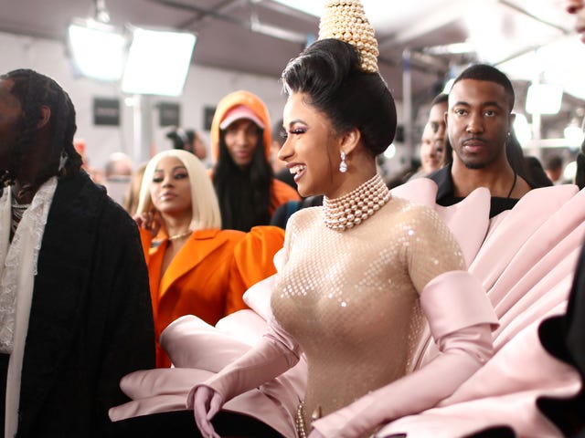 Cardi on the Half-Shell—and off IG: Behind-the-Scenes Scoop on How the 'Money' Maker Made Magic with Mugler
