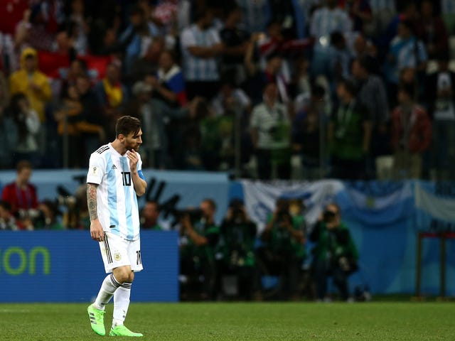 Lionel Messi's Fight Is Almost Over