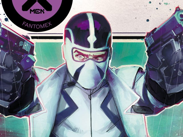Fantomex enters the Dawn Of X in this Giant Size X-Men first look