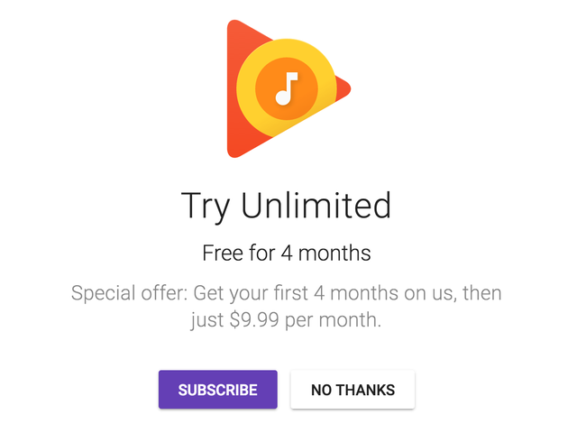 New Members Can Get YouTube Red and Google Play Music Unlimited For FREE For Four Months