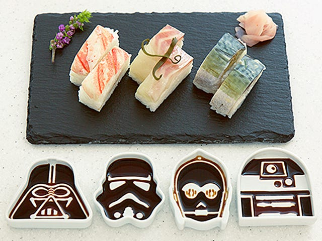 These Star Wars Soy Sauce Dishes Are Completely Absurd and I Want Them So Bad