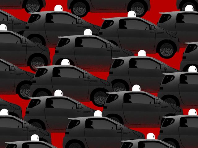 Uber和Lyft引起的交通拥堵让无人驾驶汽车陷入困境