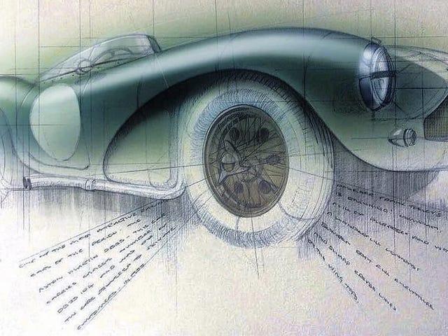 พบกับ 'Scribbling Vicar' นักบวชผู้ทำหน้าที่เป็นศิลปินในบ้านของ Aston Martin
