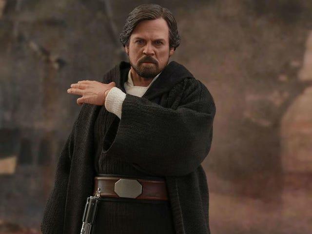 Fresh to Death Luke Skywalker Is Finally Tactile