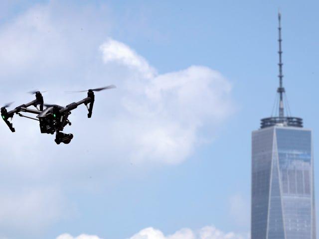 Oh Cool, el NYPD ahora tiene una flota de drones para 'Operaciones tácticas'