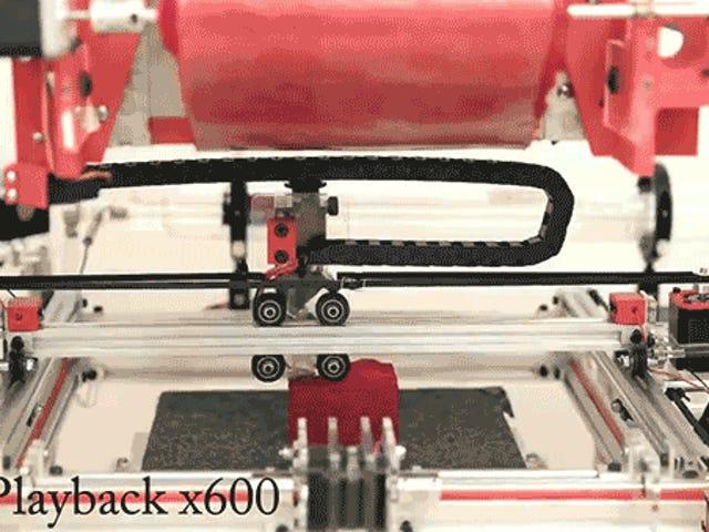 디즈니는 직물을 사용하여 부드러운 물건을 만드는 3D 프린터를 만들었습니다.