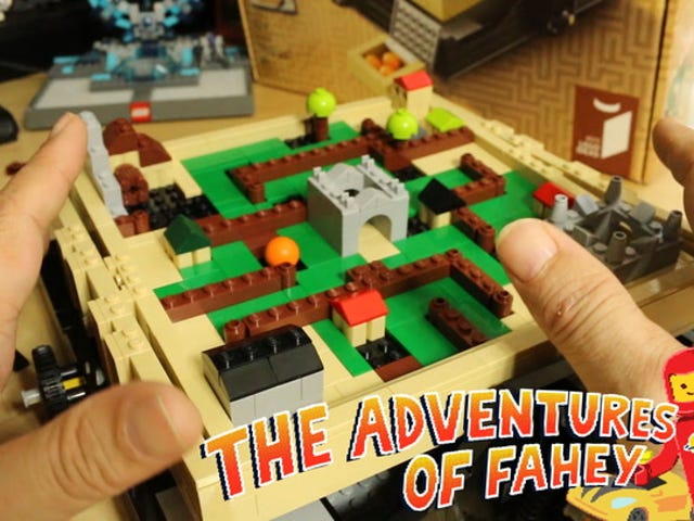 Toy Time spielt mit LEGO's Take On A Gaming Classic