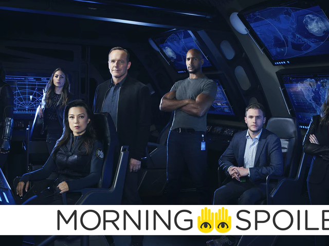 Updates From Agents of SHIELD, Sonic the Hedgehog, and More