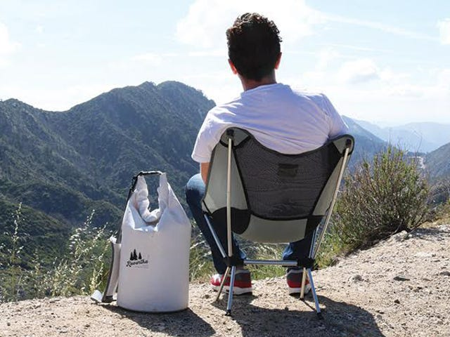 Kick Back In This Packable, Folding Camp Chair från Kawartha ($ 45)