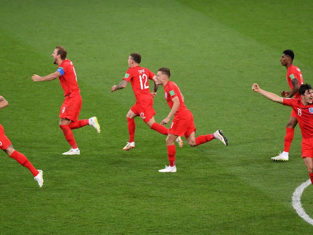 England Miraculously Avoid Pulling An England By Beating Colombia In Penalty Shootout