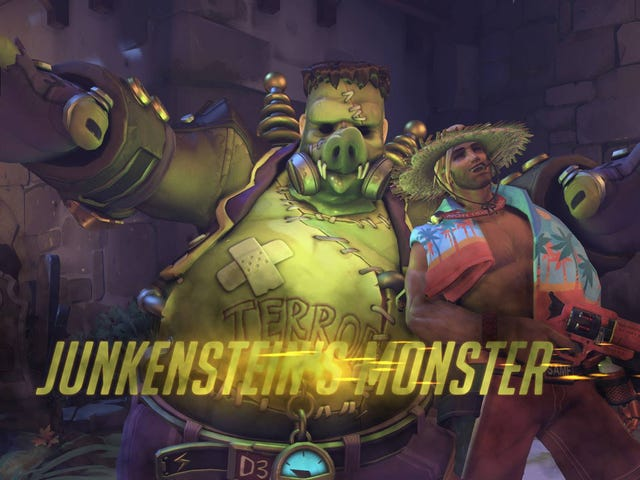 Overwatch Players Are Photobombing Halloween Mode Again