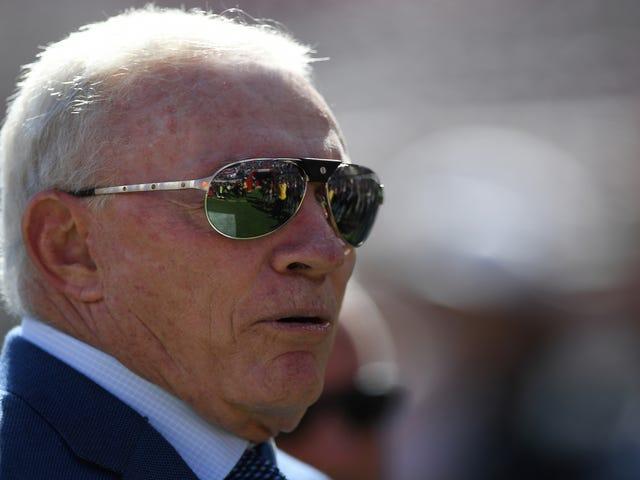 Jerry Jones vil ikke suge NFL, vil stadig ikke lukke om Roger Goodells kontrakt