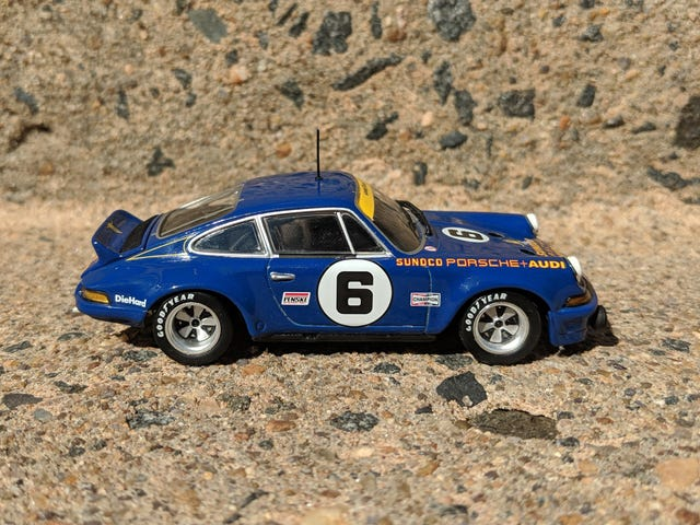 Blue Monday: 1973 Porsche 911 RSR