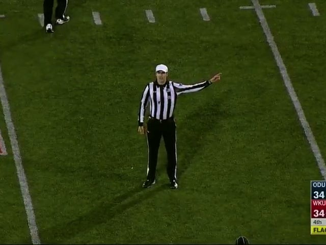 Western Kentucky Found One Of The Strangest Ways To Lose A Football Game