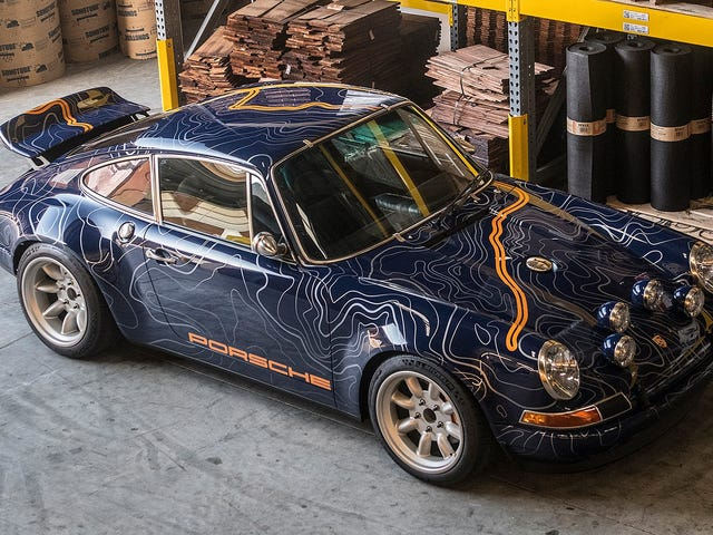 Singer's Latest 'Reimagined' 911 Is The Wildest One Yet