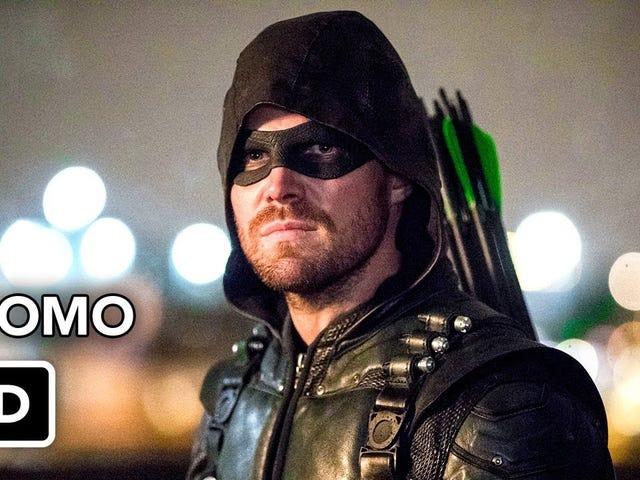"Arrow 6x15 ""Dopplegänger"" Thread Reaksi"